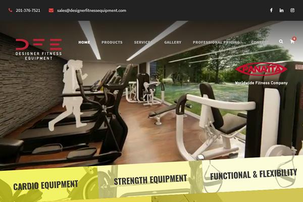 Designer Fitness Equipment
